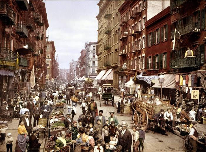 Mulberry Street, Little Italy, New York City, Early 1900s