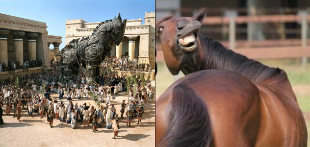 2020 Election: The Trojan Horse Vs. The Horse's @$$